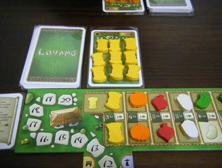 αρχικό χωράφι με φυτεμένο σιτάρι!επίσης πάνω δεξιά μας δείχνει ποια λαχανικά μπορούν να φυτευτούν σε κάθε χωράφι(στο συγκεκριμένο:σιτάρι,κολοκύθα,παντζάρια)