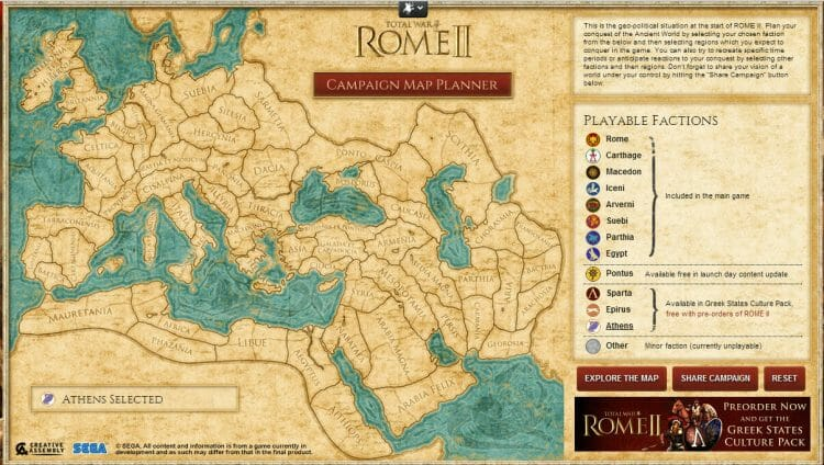 total war rome 2 campaign planner