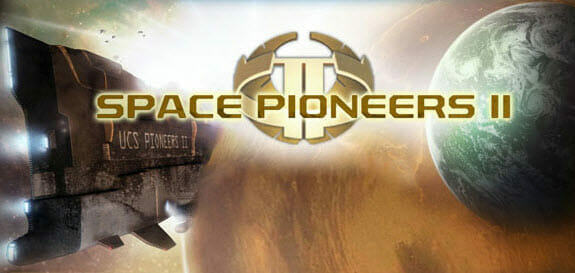 Space Pioneers 2 Logo